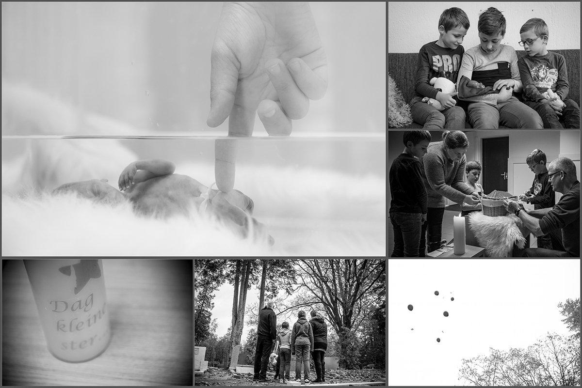 Afscheidsfotografie - Baby Dex